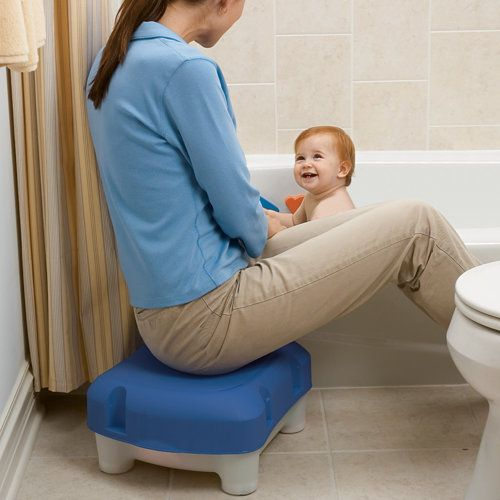 3-in-1 Sit and Store Tub-Side Seat - this would make bathtime SO much easier (especially with me being pregnant!) and I love that you can store items in it!