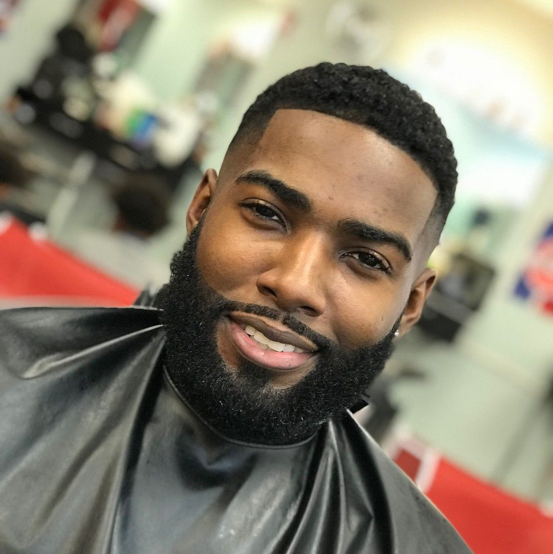 77 best black men beard styles amp mustache styles for 2019 - HD1080×1082