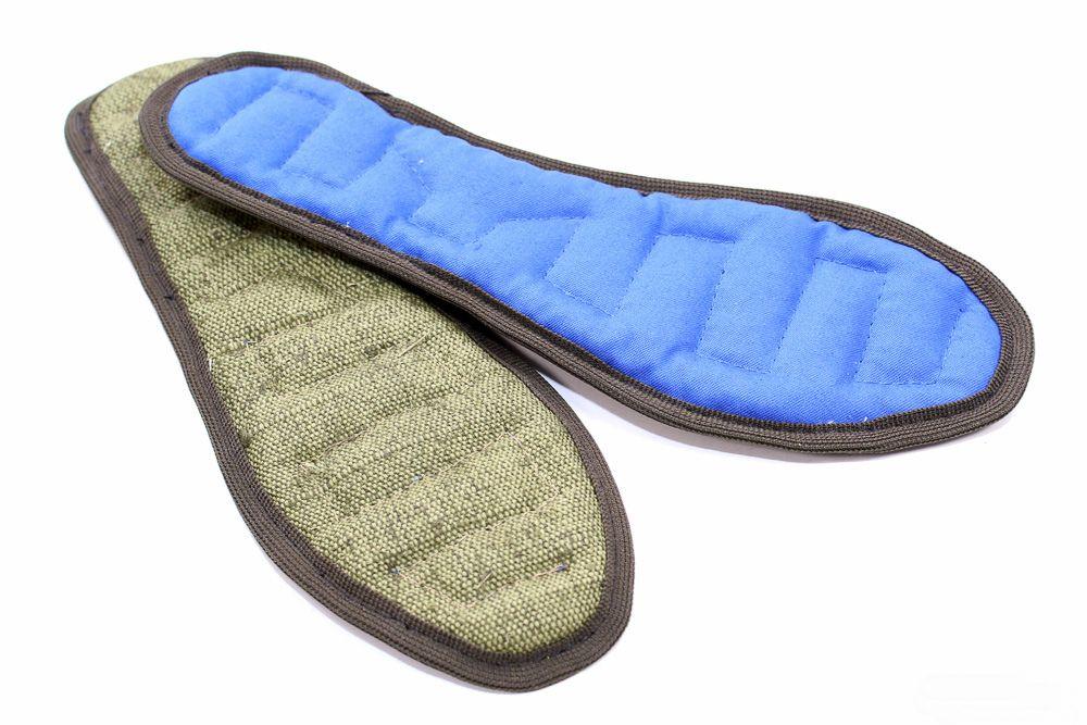 Стельки противогрибковые Здоровье ног (лузга гречихи)Текстиль для здоровья