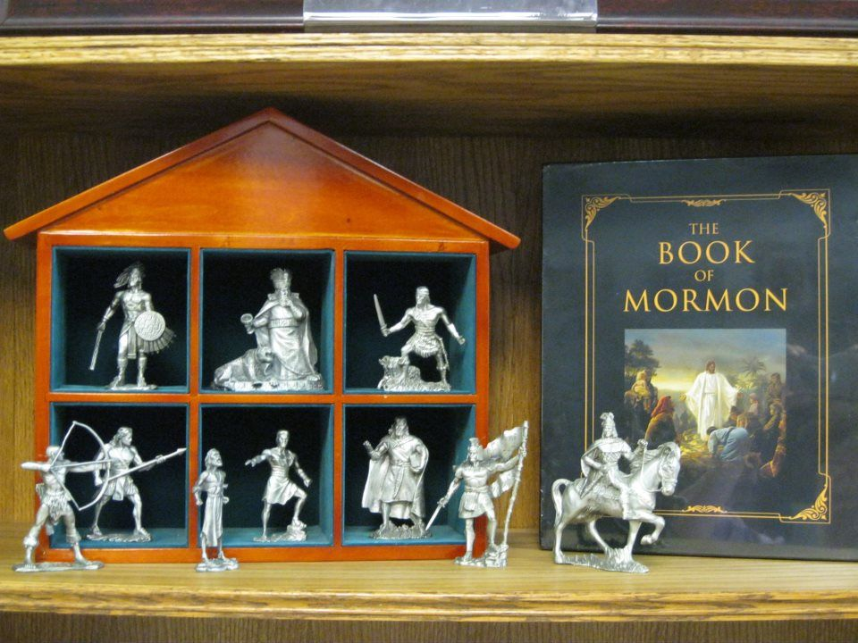 Book of Mormon figurines - they seem so real.