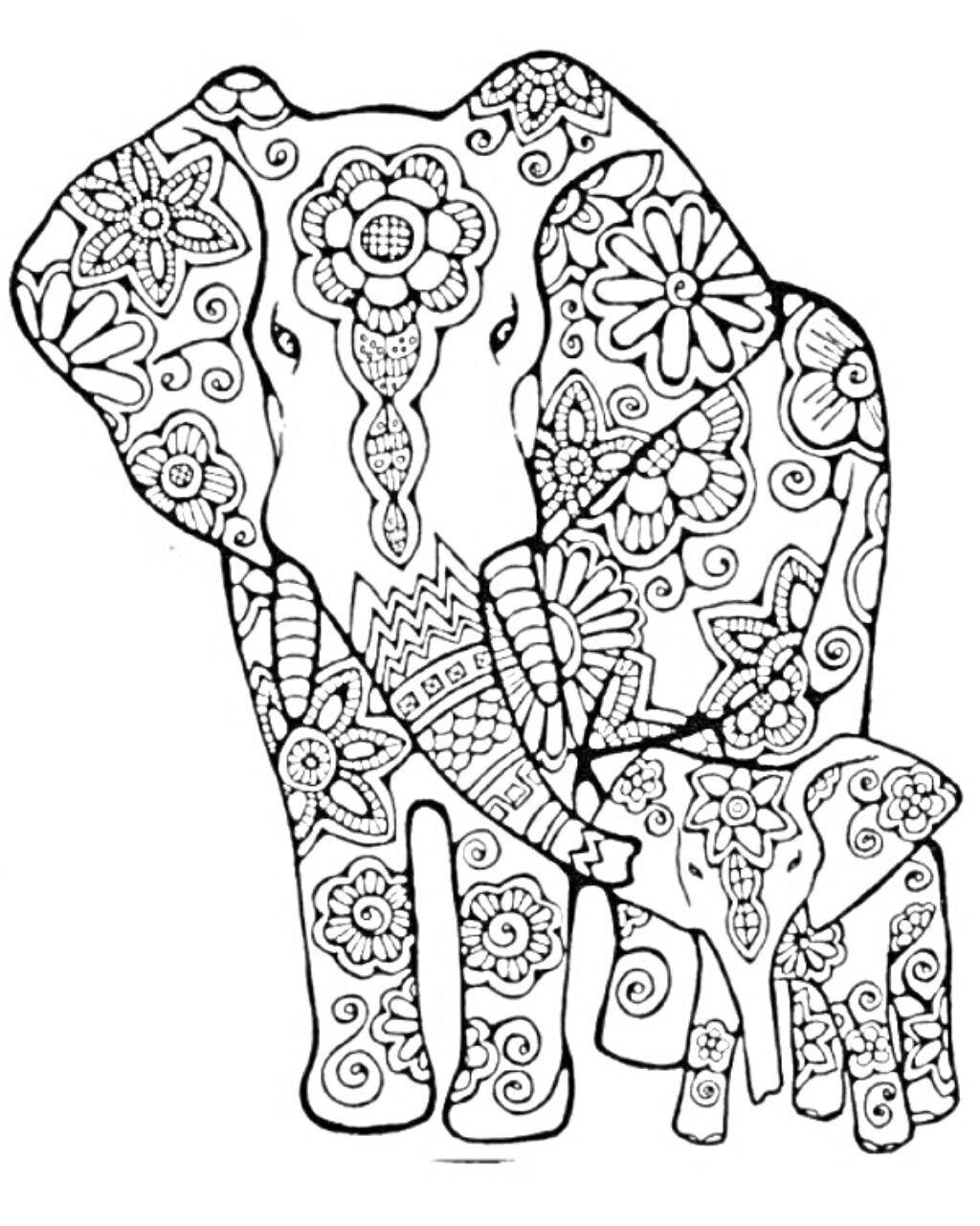 pin von frau ef auf elefanten (mit bildern)  mandala