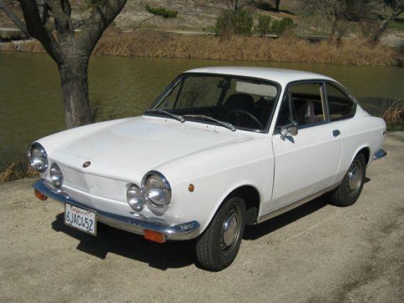 In The Family 1969 Fiat 850 Sport Coupe Met Afbeeldingen