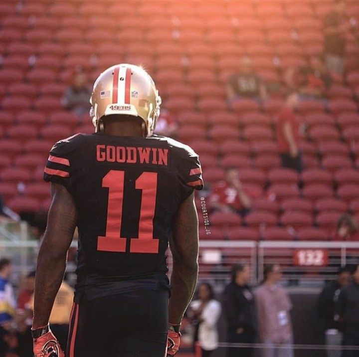 newest collection 17820 e9074 Marquise Goodwin | San Francisco 49ers | 49ers players, Nfl ...