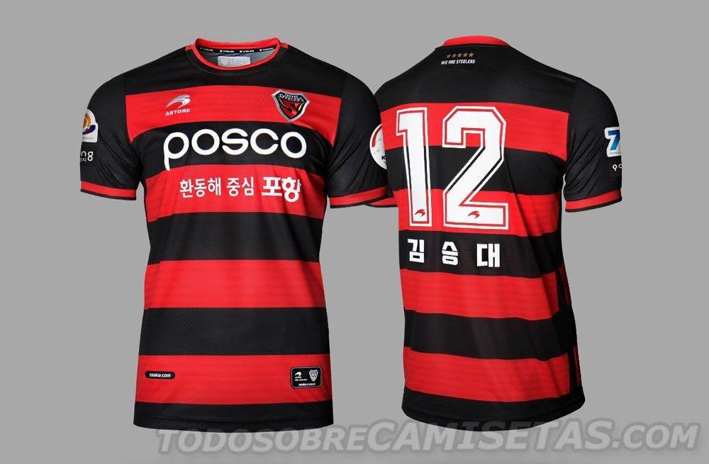 finest selection a407b 90b7c Pohang Steelers 2019 Astore Kits | Jerseys Fútbol | Football ...