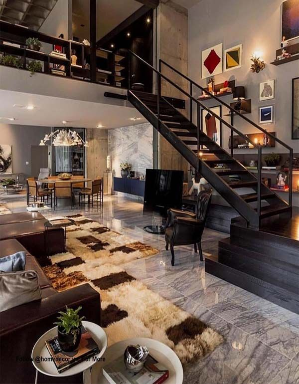 Most Beautiful Home Decorating Ideas For 2018 2019 Absurd Styles Loft Apartment Decorating Loft Apartment Designs Apartment Design