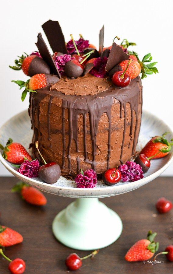 healthy chocolate cake 1
