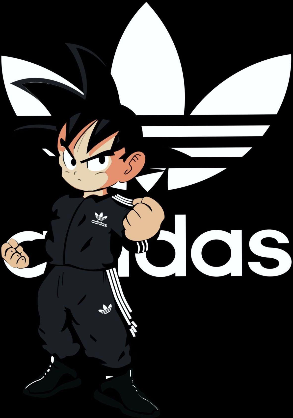 Goku Adidas Vector Pdf Fondo De Pantalla De Supreme Adidas