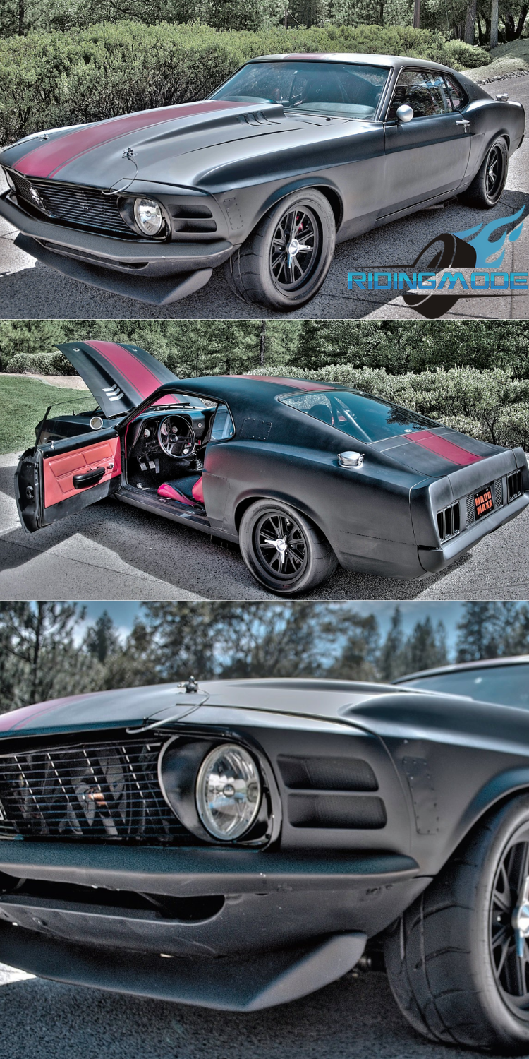 """Madd Maxx"" – a 1970 Ford Mustang Fastback by Dark Horse Customs!"