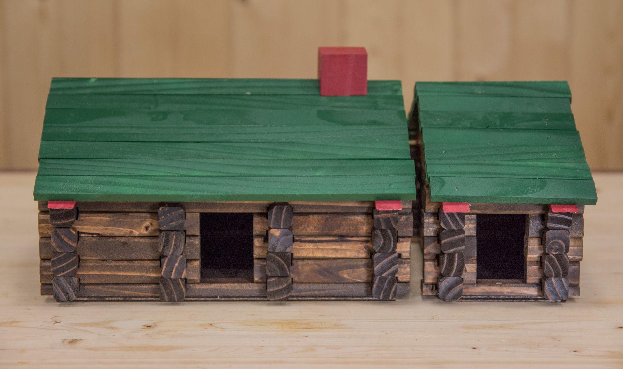 Make Your Own Lincoln Logs Birdhouse The Drunken