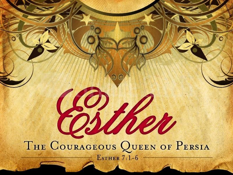 Esther Queen Of Persia Powerpoint Template Queen Esther