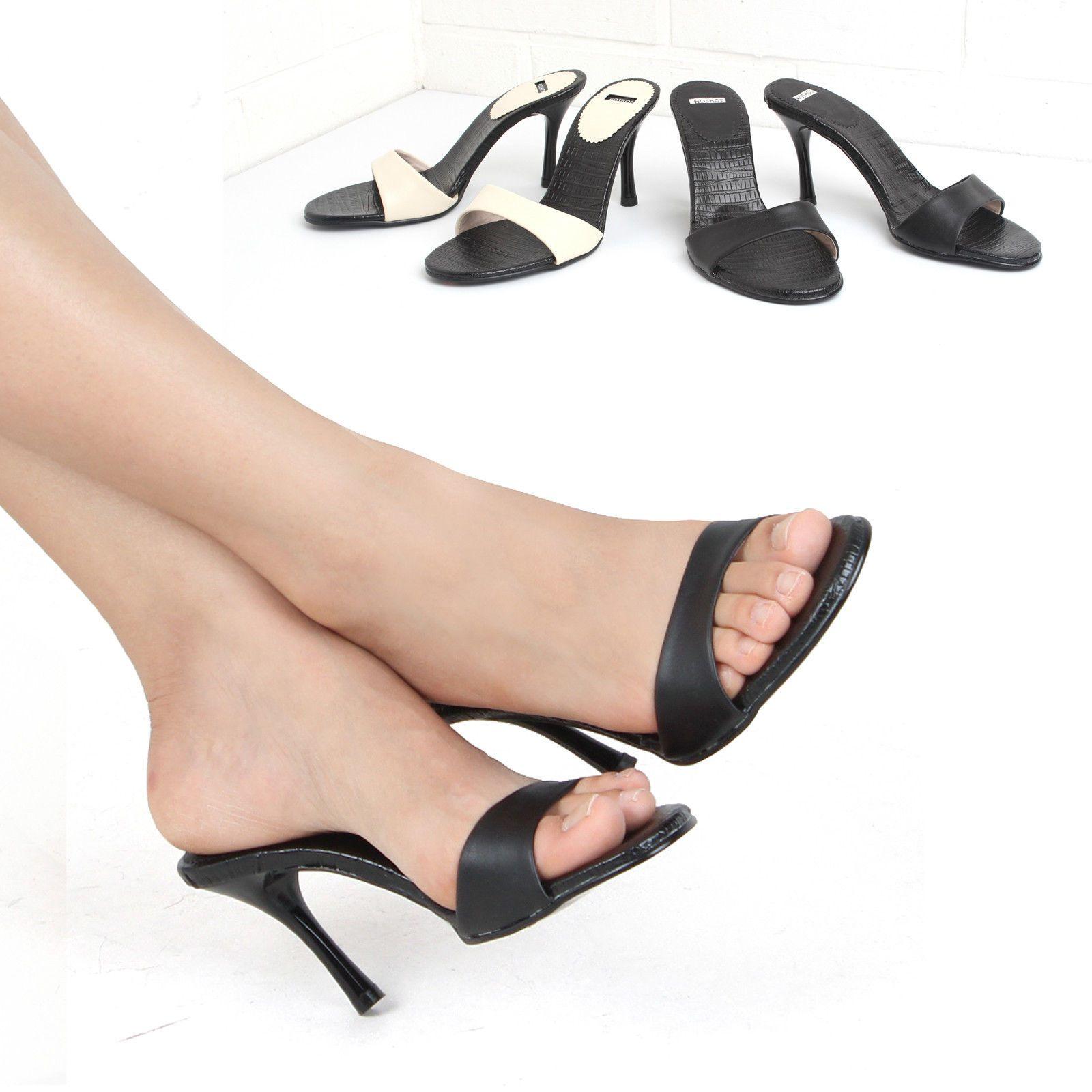 8ad4fd3c054 HS 8001] Sexy Ladies Mule Sandals high heels in Women's Shoes US 5 ...