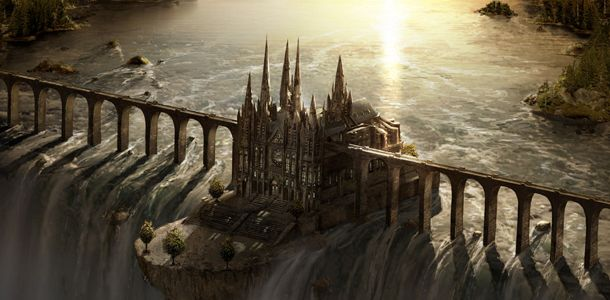 concept art china palace - Google Search
