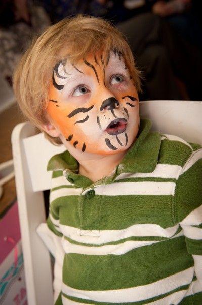Maquillatge de tigre