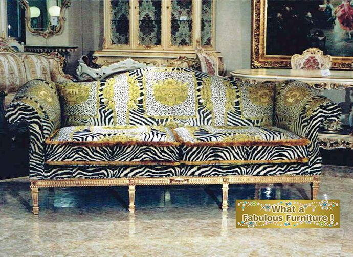 Versace Sofa Made In Italy