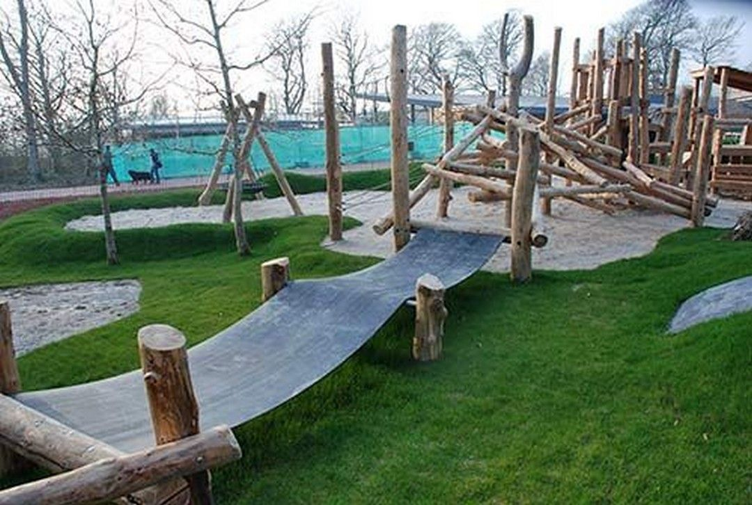 32 Creative Ideas And Cute Natural Playground Garden For ...