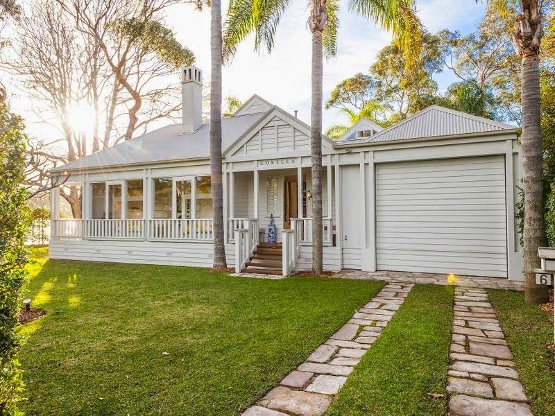 An Iconic House In Palm Beach For Sale Palm Beach Nsw Facade House Australian Homes