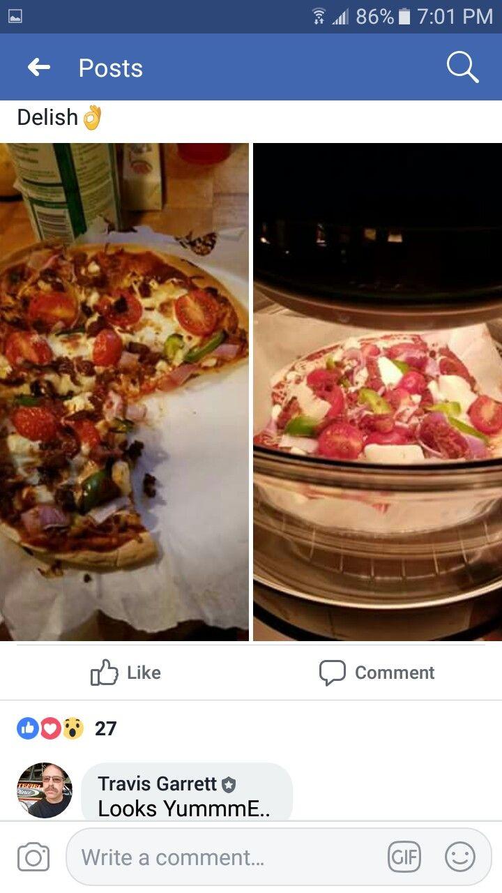 Tortilla pizza Air fryer recipes, Recipes, Food