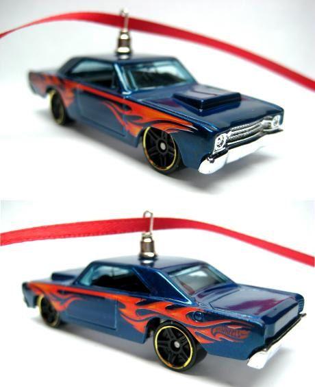 1968 Dodge Dart Hot Rod Car Hot Wheels Ornament Christmas Tree