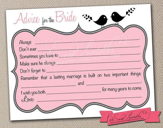 PDF DIGITAL DOWNLOAD. Lovebird Mad Lib Advice For The