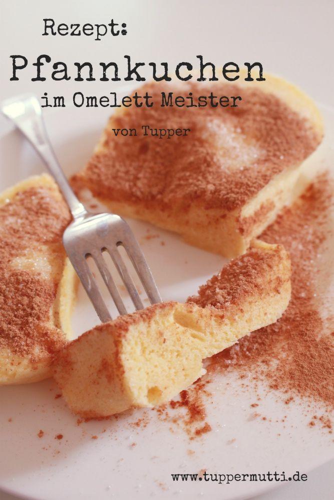 Rezept Schneller Pfannkuchen Aus Dem Omelett Meister Von Tupper