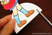 Como hacer muñecos de papel