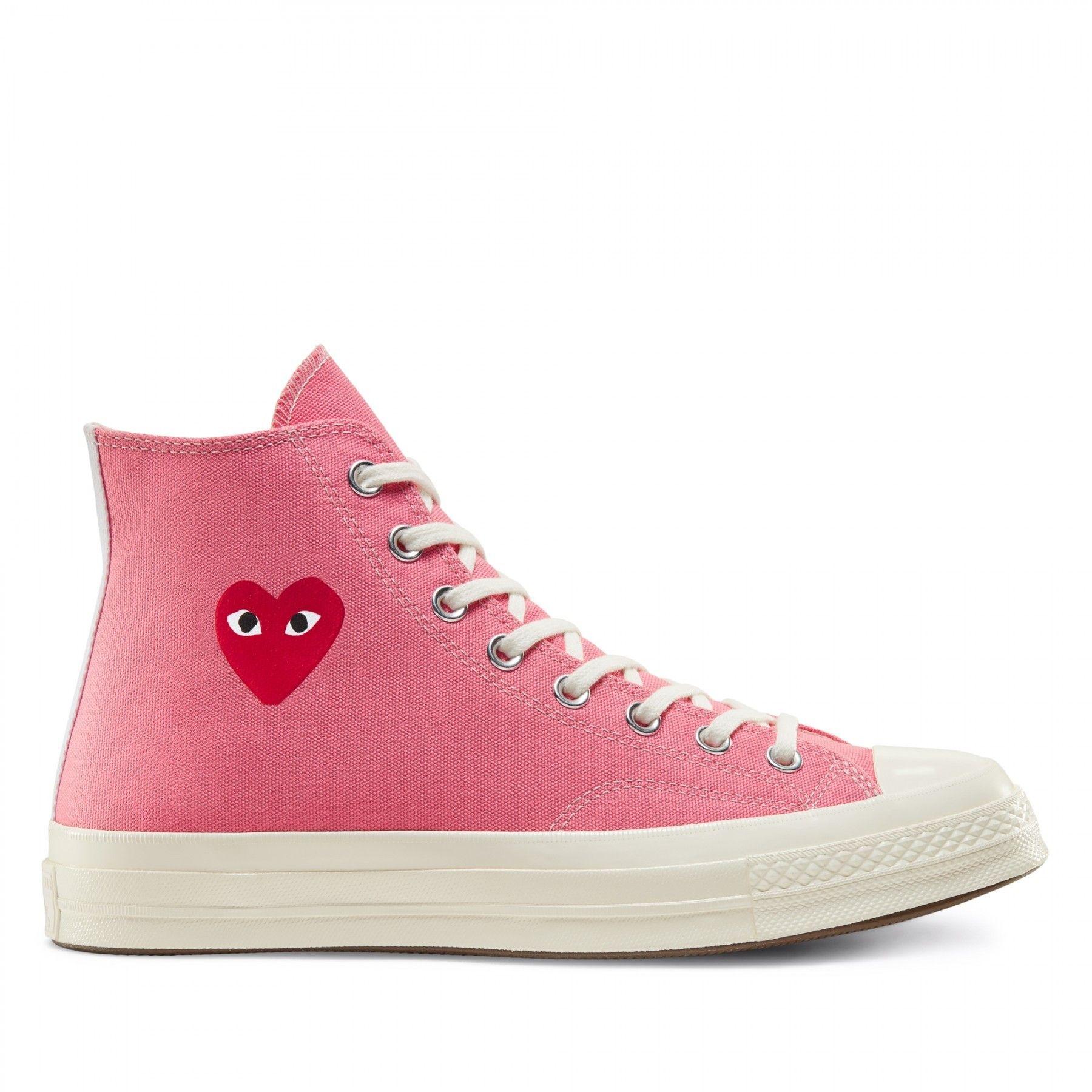 Pink high top converse, Chuck taylors