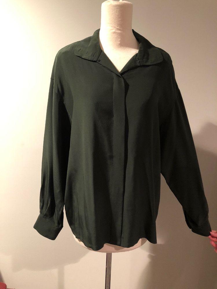 7bac484816af87 Linda Allard Ellen Tracy Silk Blouse-8  fashion  clothing  shoes   accessories  womensclothing  tops (ebay link)