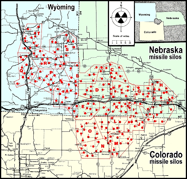 Missile Silo Map | Cold War | Silo house, War image, Topeka