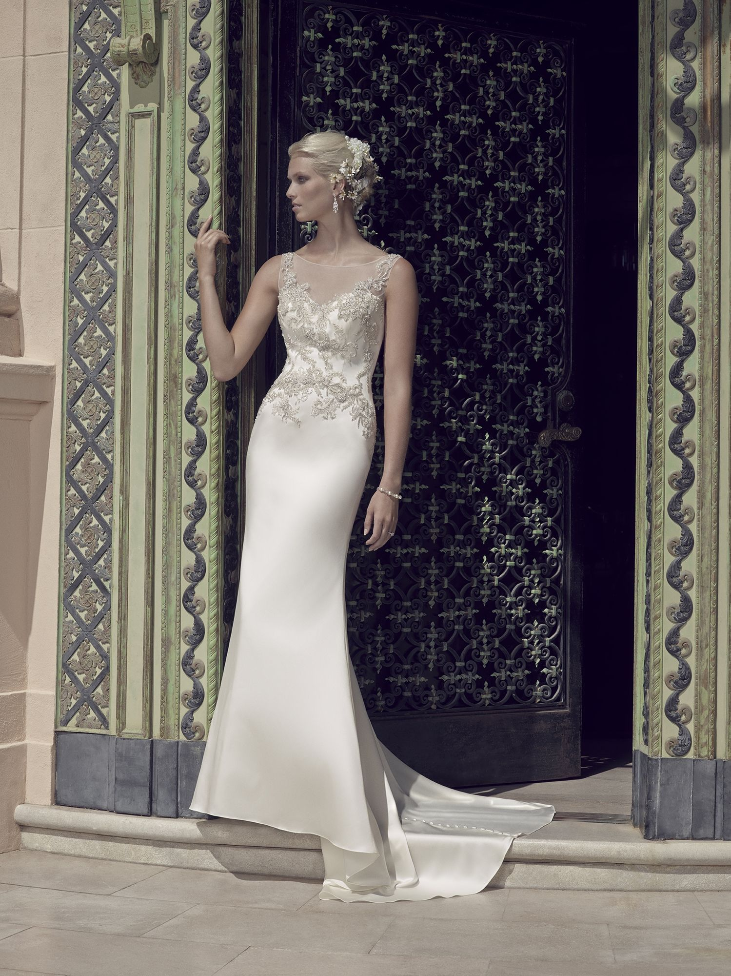 Style 2202 | Casablanca Bridal | Available at Lulu\'s Bridal Boutique ...