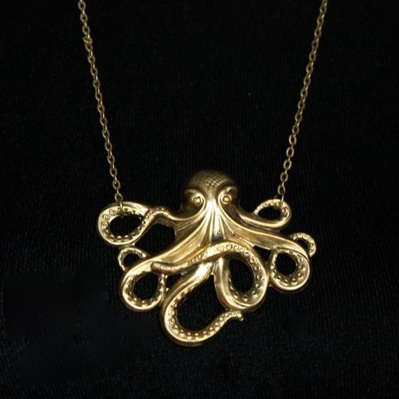 Image of Octopus Trésor necklace