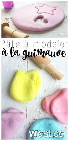 Pâte à modeler à la guimauve | Recette | Pâte à modeler comestible, Guimauve
