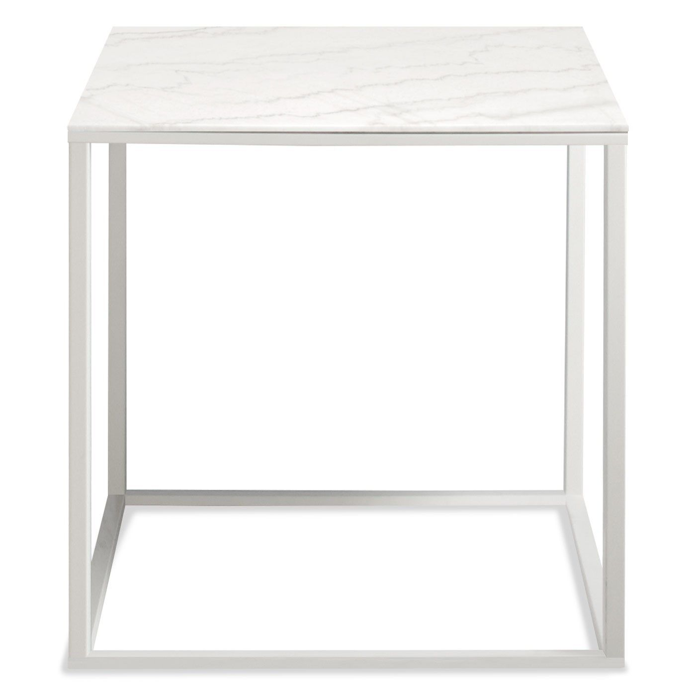 interior white marble side table Styling our home