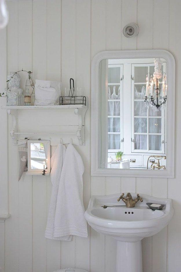 Brocante badkamer - Ideeën voor het huis | Pinterest - Brocante ...