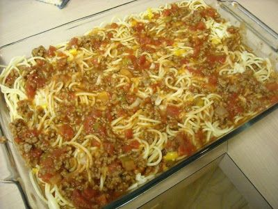 """Mommy's Kitchen - Country Cooking & Family Friendly Recipes: Baked Spaghetti """"My Girl Paula Challenge"""""""