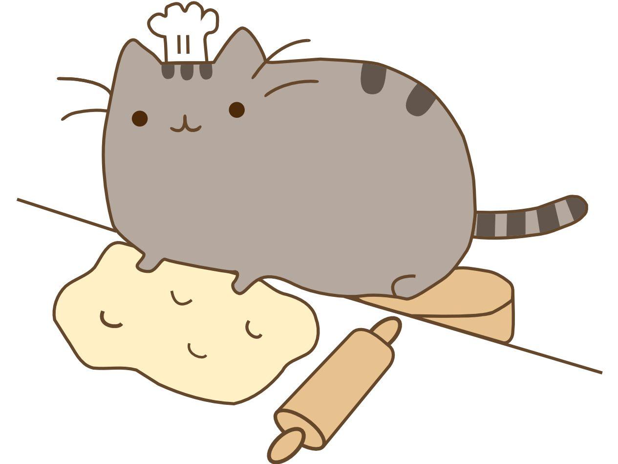 Baking Bakeing Pusheen Cat Pusheen Cute Cats And Dogs