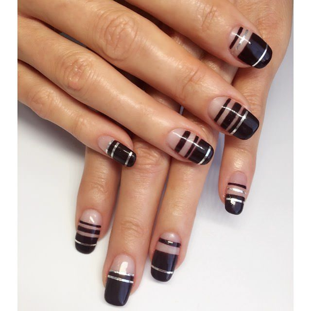 Image result for line nail designs - Image Result For Line Nail Designs Manicures Pinterest