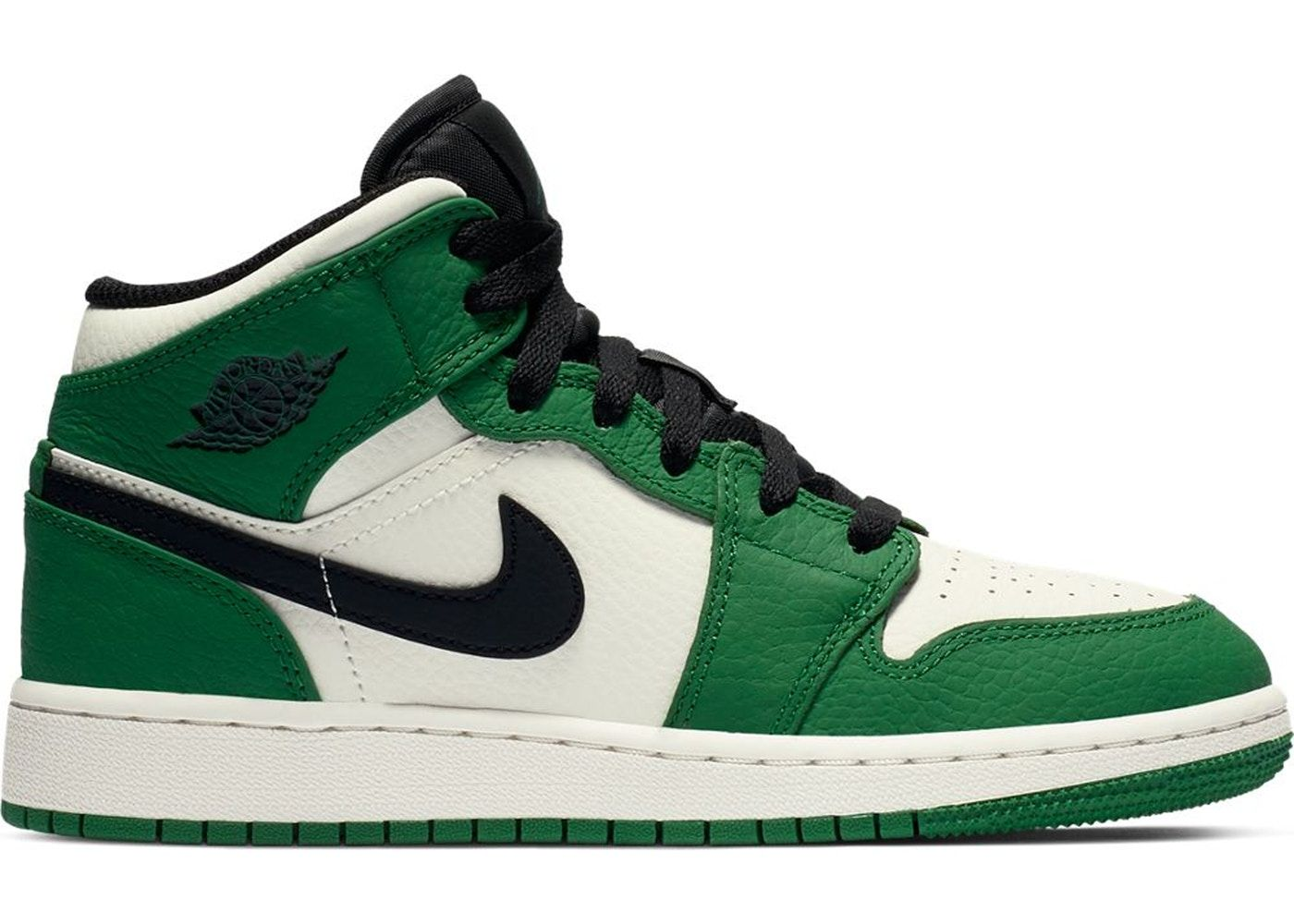 promo code ce374 99ce6 Check out the Jordan 1 Mid Pine Green (GS) available on StockX