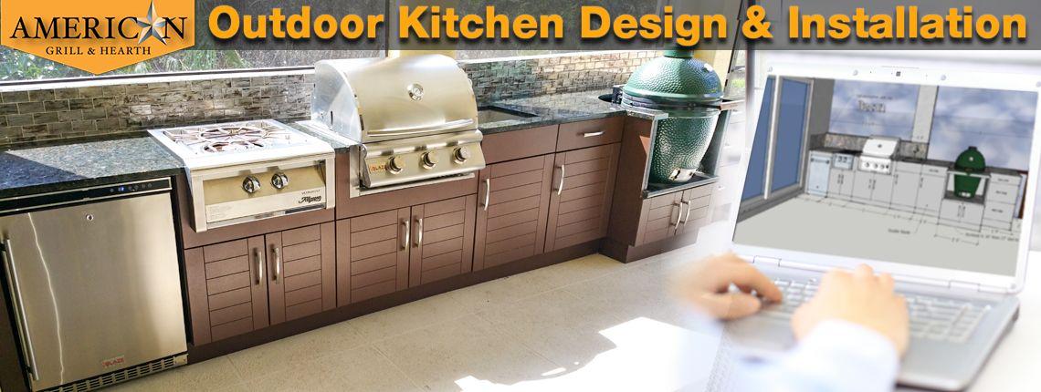 Outdoor Kitchen Design And Installation Outdoor Kitchen Outdoor Kitchen Design Kitchen Design