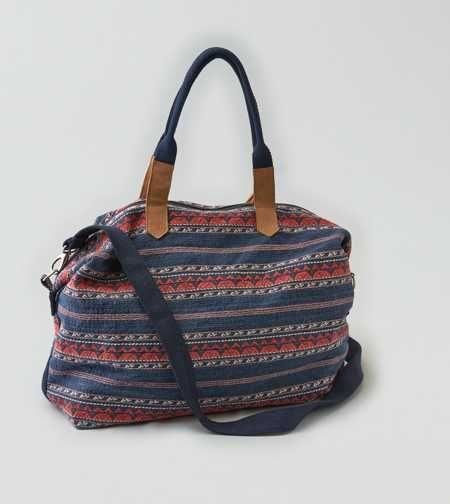 AEO Textured Weekend Bag