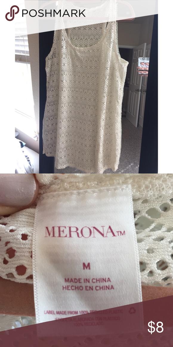 5d96068e48 Swim Cover Up • Cute White Swim Cover Up • Great Length Merona Swim Coverups