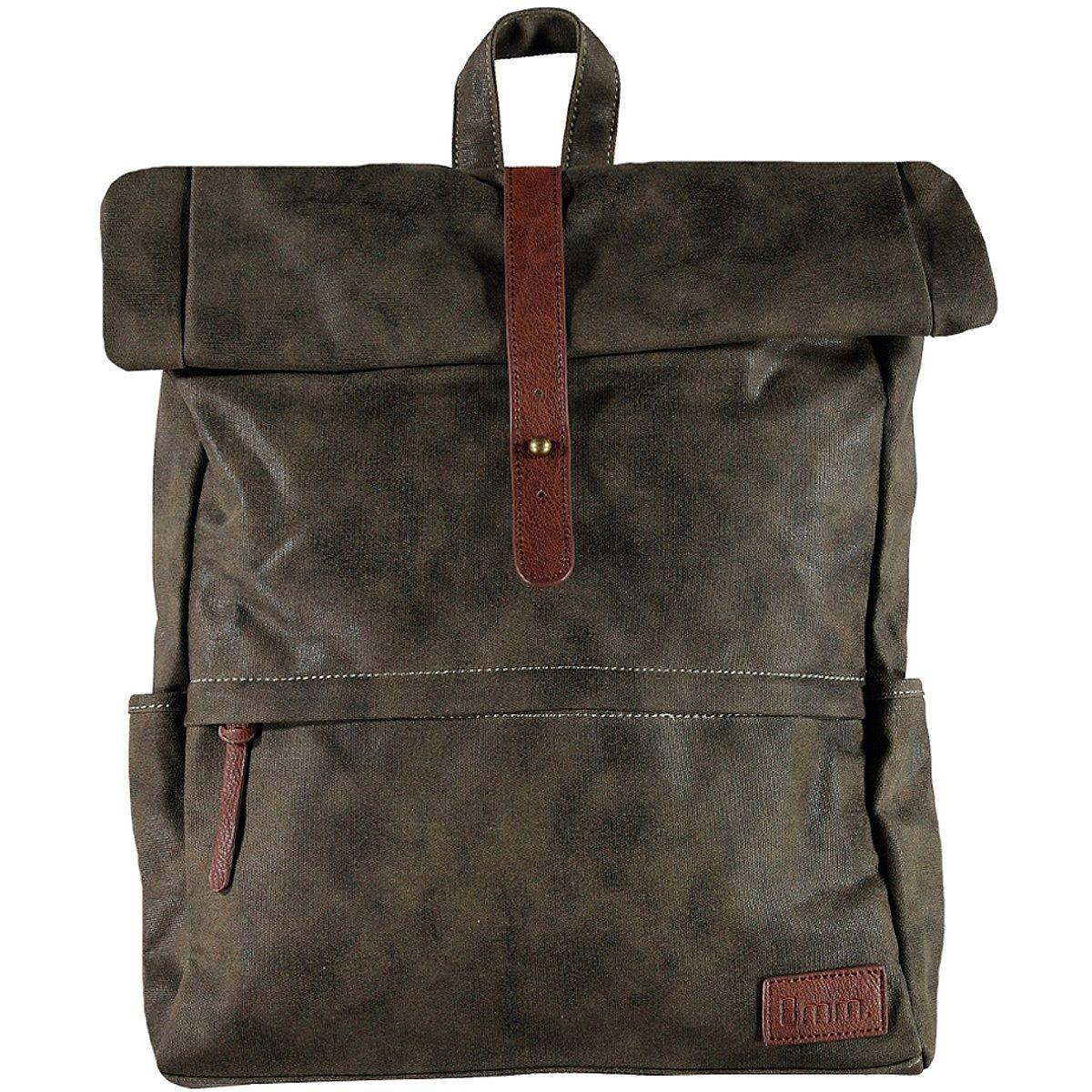 8MM. Backpack canvas, dk green