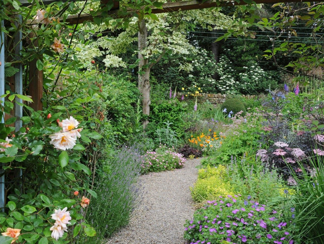 1000 images about country cottage gardens on Pinterest Gardens