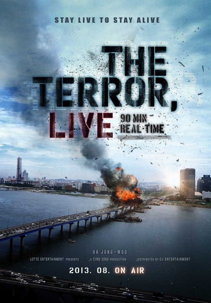 Young-hwa Yoon, once a top, national news anchor, gets demoted to radio news. One day, a call comes in during his radio show threatening to blow up Mapo Bridge.  Read more & # Watch #The #Terror #Live (2013) online at:  http://www.justclicktowatch.so/movies/the-terror-live-2013/
