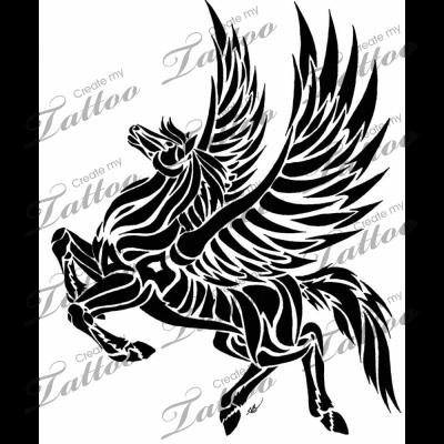 Marketplace Tattoo Pegasus 1365 Horse Tattoo Design Pegasus Tattoo Dragon Artwork