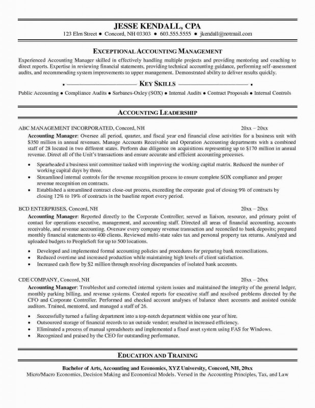 Accounts Receivable Report Template Professional Resume