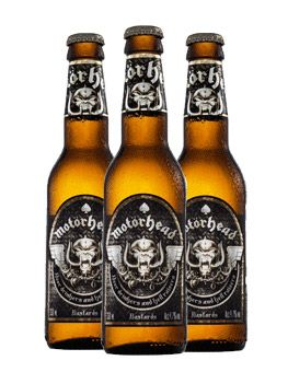 Motorhead lager!