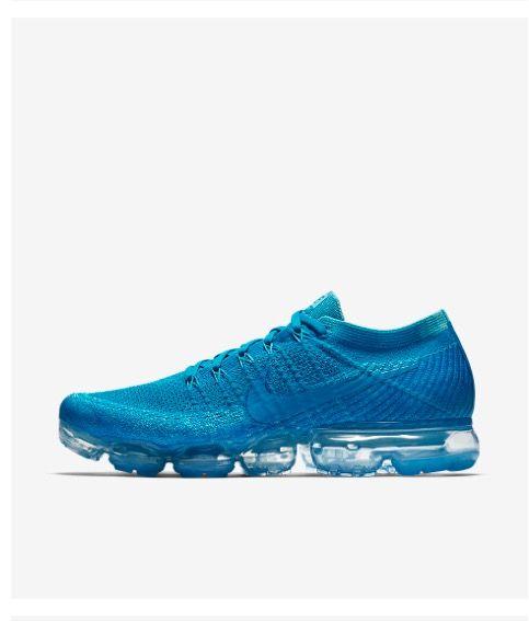 nike air max vapormax blue