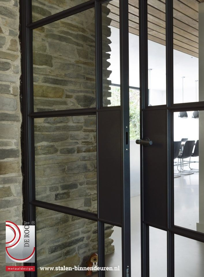 Hinged and sliding doors in Soest   De Rooy – Steel inside …