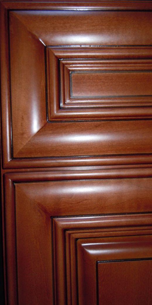 Kcd Copyrightkitchencabinets Chestnut Pillow Corner Door Maple Oak Bamboo Rta Cabinets