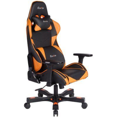 Absolute Office Clutch Chairz Premium Gaming And Computer Chair Color:  Orange